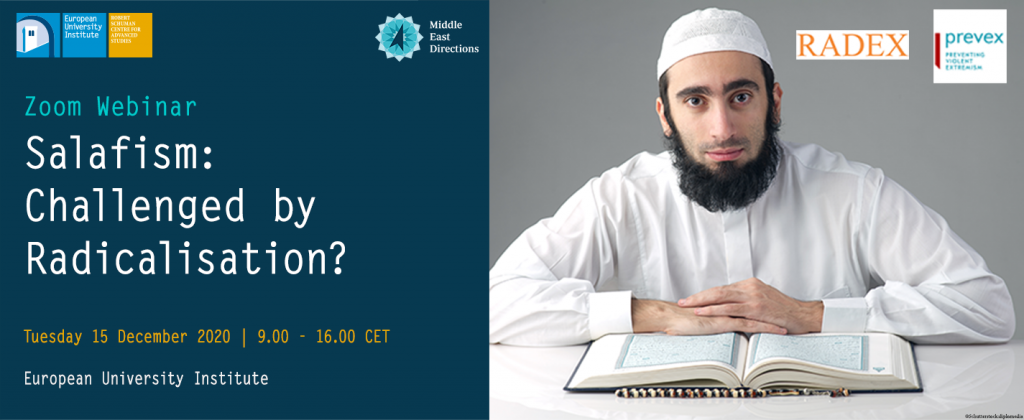 MEDirections Roundtable | Salafism: Challenged by Radicalization? @ online on ZOOM