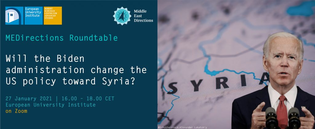 MEDirections Roundtable | Will the Biden administration change US policy on Syria?